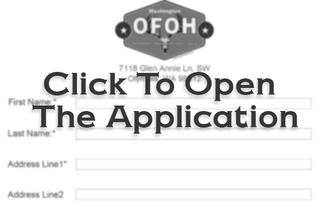 Application | Outdoors for our Heroes
